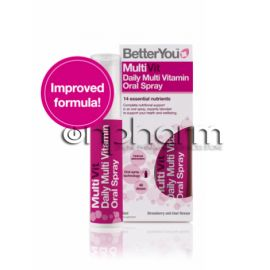 BetterYou MultiVit Υπογλώσσιο Spray 25ml