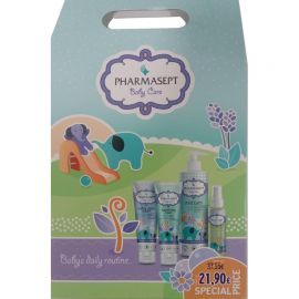 Pharmasept Promo Baby Care Απαλό Βρεφικό Αφρόλουτρο Σώμα/Μαλλιά 500ml & Baby Soothing Cream & Extra Calm Cream 150ml & Relief Massage Oil 100ml