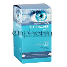 Helenvita Blephacare Pads 2x30 Αποστειρωμένα Τεμάχια
