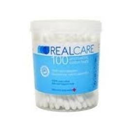 RealCare Μπατονέτες από 100% αγνό βαμβάκι, 200 τεμάχια